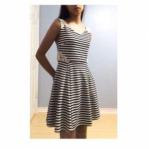 Cute striped lace dress